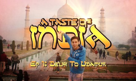 A Taste Of India: Ep1 – Backpacking from Delhi to Udaipur