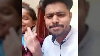 Bollywood Dubsmash Saqib with sister